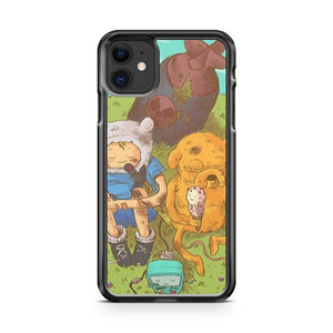 Adventure Time Art 2 iPhone 11 Case Cover | Overkill Inc.
