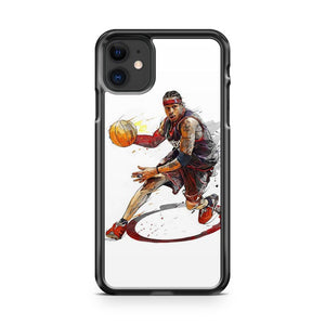 Allen Iverson iPhone 11 Case Cover | Overkill Inc.