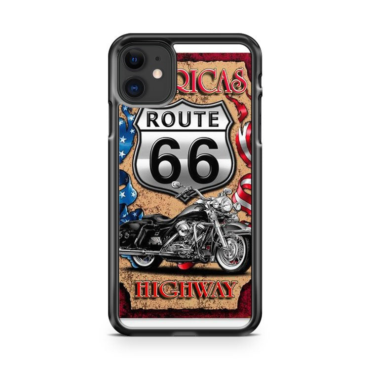 Americas Highway Route 66 iPhone 11 Case Cover | Overkill Inc.