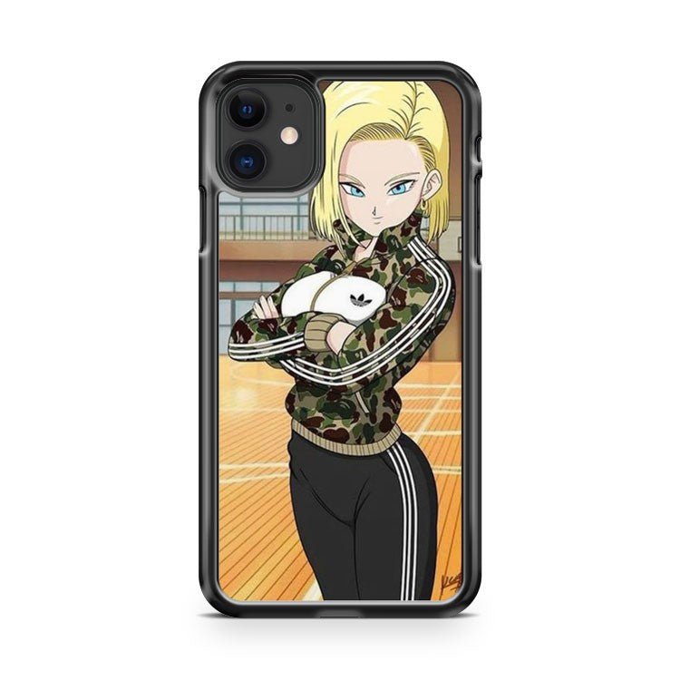 Android 18 Dragon Ball Z iPhone 11 Case Cover | Overkill Inc.
