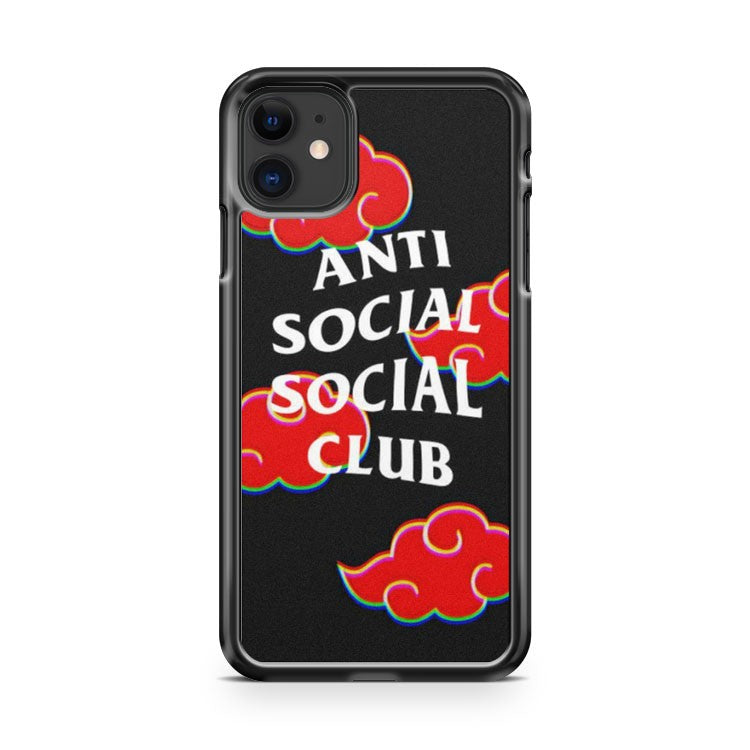 Anti Social Social Clube Akatsuki iPhone 11 Case Cover | Overkill Inc.