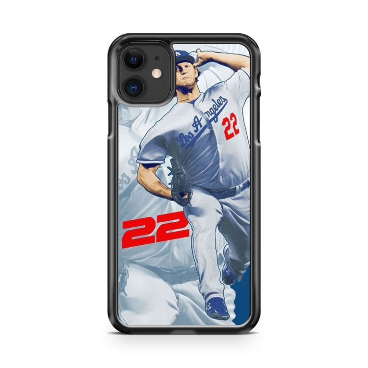 Clayton Kershaw Los Angeles Dodgers 10 iPhone 11 Case Cover | Overkill Inc.