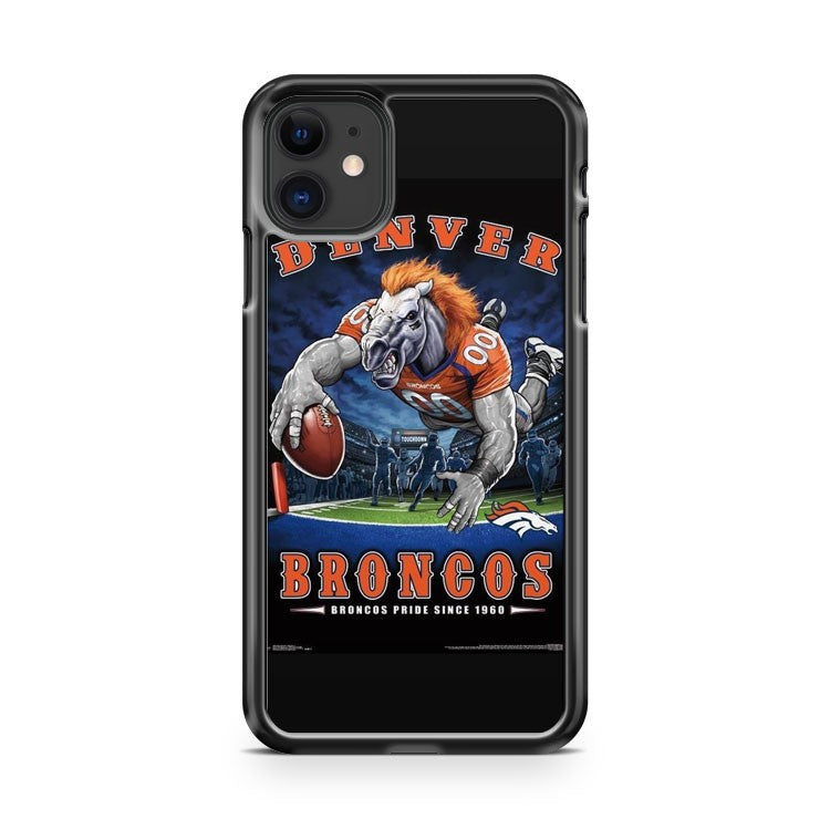 Denver Broncos 1 iPhone 11 Case Cover | Overkill Inc.
