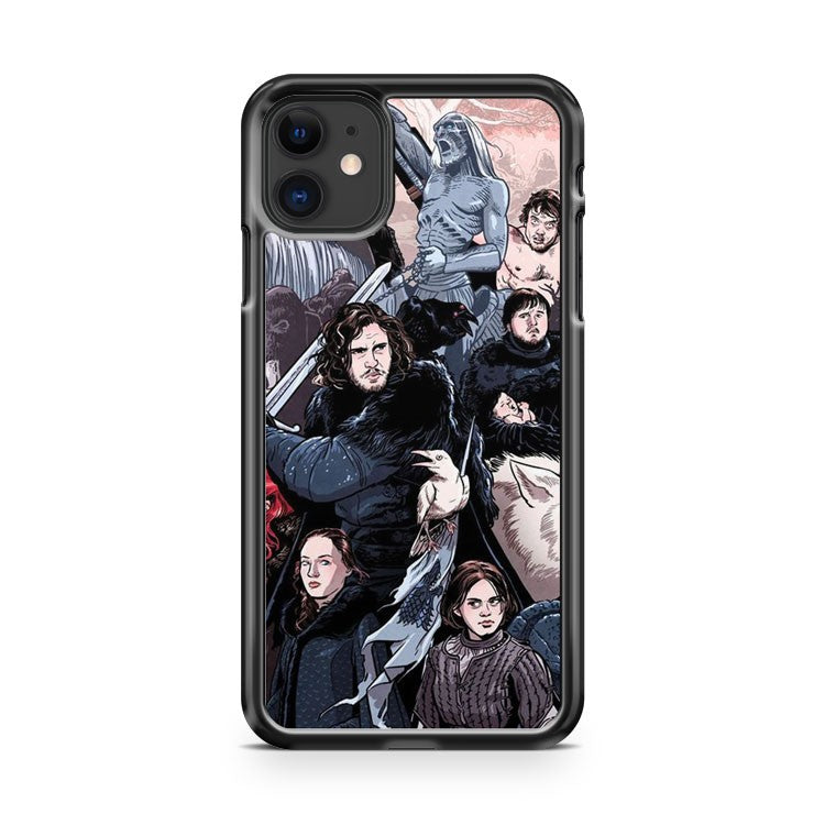 Game Of Thrones Art 1 iPhone 11 Case Cover