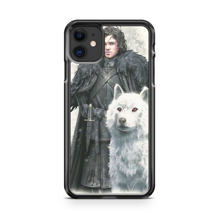 Game Of Thrones Jon Snow 2 iPhone 11 Case Cover