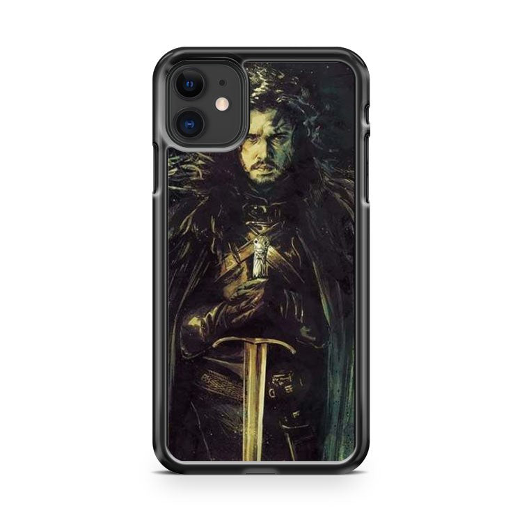 Game Of Thrones Jon Snow iPhone 11 Case Cover