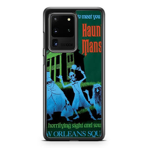 Haunted Mansion Ride Poster Samsung Galaxy S20 Ultra Case Cover