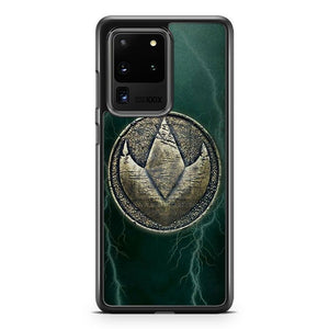 Power Rangers Green Ranger Morph Coin Samsung Galaxy S20 Ultra Case Cover