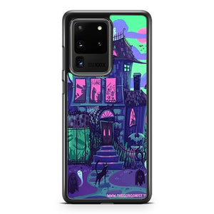 Haunted Mansion Monster Party Samsung Galaxy S20 Ultra Case Cover