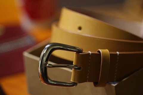How to make a leather belt by hand