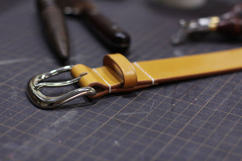 how to make a belt by hand