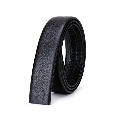 Men's Casual Automatic Buckle Genuine Leather Belt (A3)