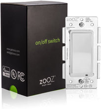 Load image into Gallery viewer, Zooz ZEN21 Z-Wave Plus On Off Wall Switch