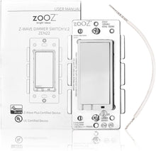 Load image into Gallery viewer, Zooz ZEN22 Z-Wave Plus Wall Dimmer Switch V4