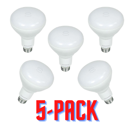 GoControl Z-Wave Light Bulb Bundle (5-Pack)