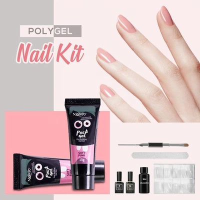 Easy PolyGel Nail Lengthening Kit - hoglam2020