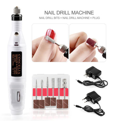 Electric Professional Nail Art Drill - glamodi