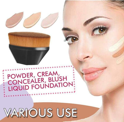 High Density Seamless Foundation Brush - glamodi