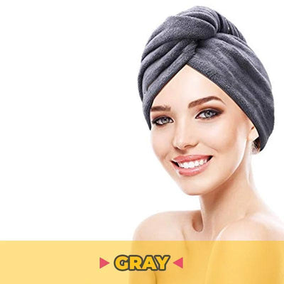 Quick towel hair dry - hoglam2020