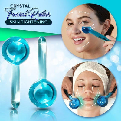 Skin Tightening Crystal Facial Roller 2PCS - hoglam2020