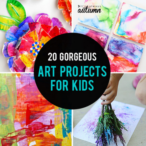 20 Art Projects for Kids