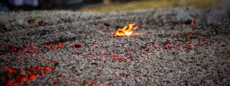 Firewalking Boundless Gratitudes