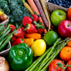 Fruits and Green Leafy Vegetables Heal Body