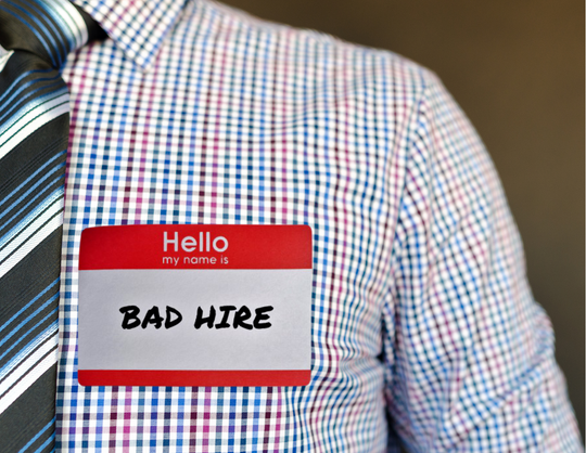 Try Our Bad Hire Calculator
