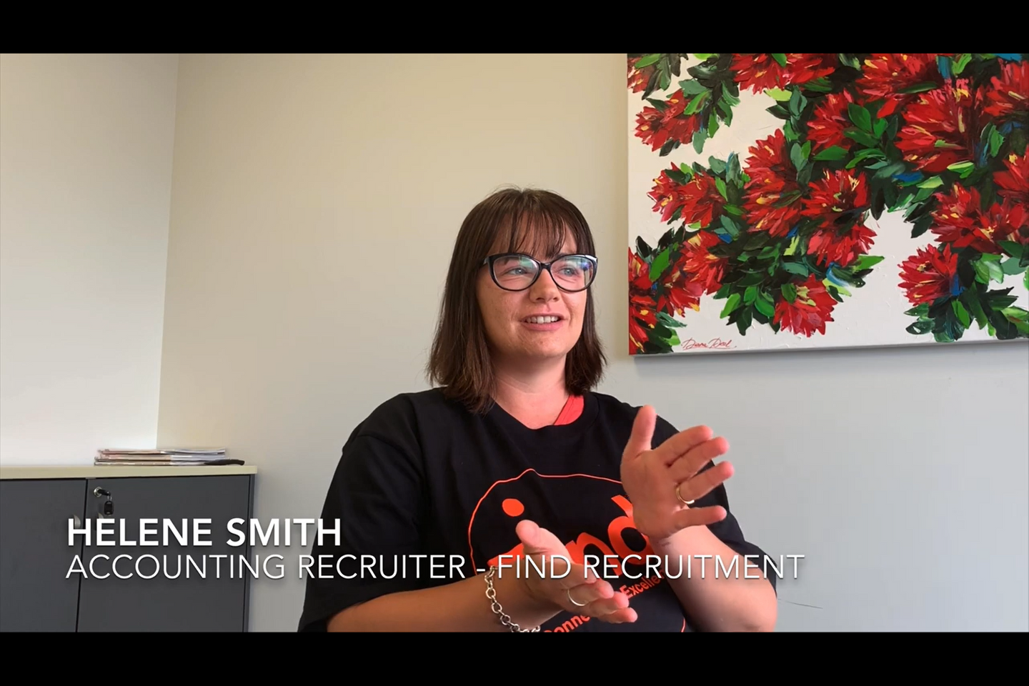 Helene Smith from Find Recruitment