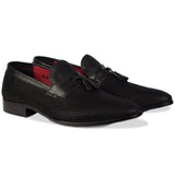 Martin Tassel Loafers Black