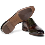 Dali Slip Ons Green/Brown