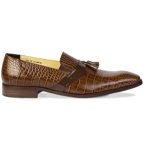 Diego Tassel Loafers Brown