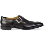Michelangelo Monkstrap Black