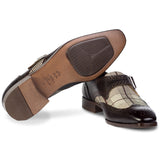 Michelangelo Monkstrap Brown