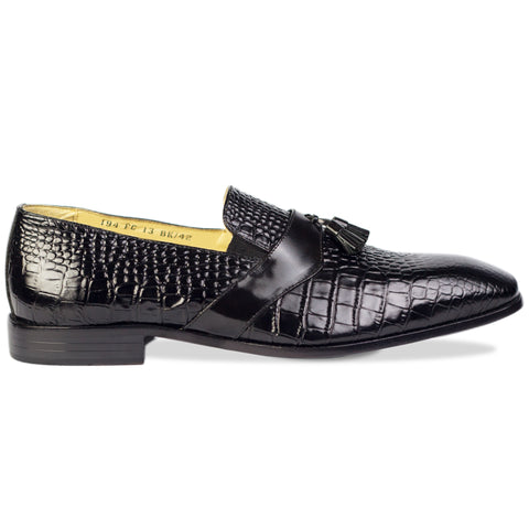 Diego Tassel Loafers Black