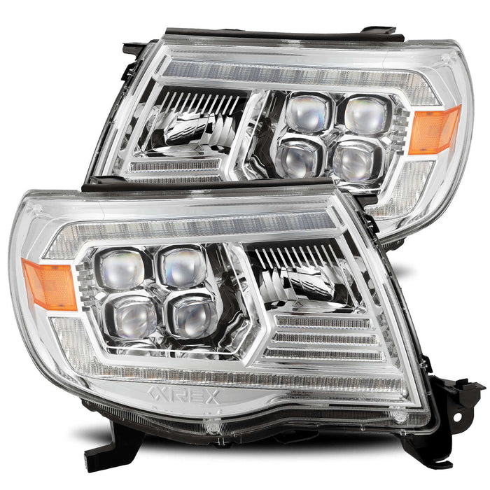 Alpharex NOVA Headlights for 2005 - 2011 Tacoma