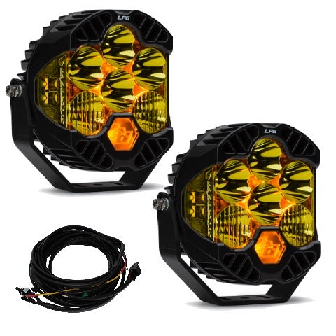 Baja Designs LP6 Pro LED lights with DRL