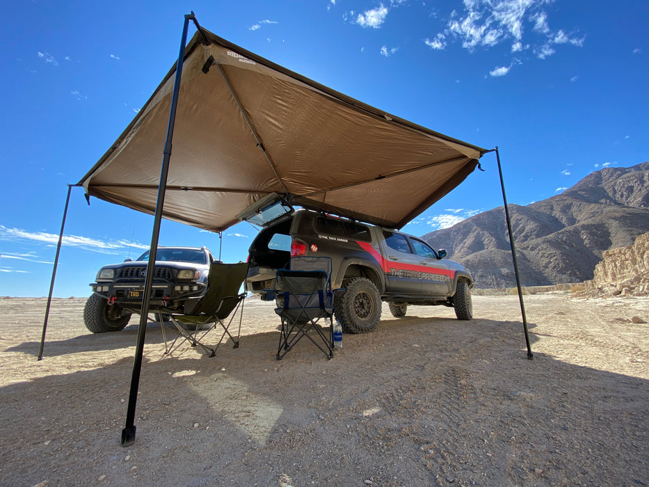 Batwing 270 degree Awning