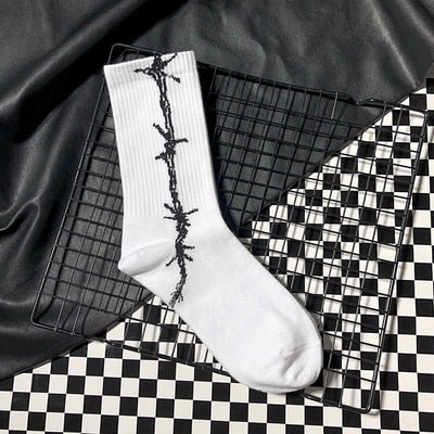 barbwire socks
