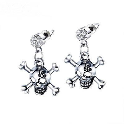 crossbones earrings
