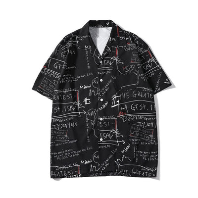 Chalkboard Button Up