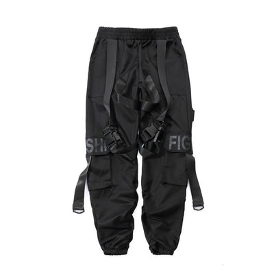 Buckle Strap Joggers