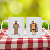 Double-sided Flasher Mug - Psych! Mugs Tasteless Greetings