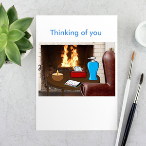 Thinking of You Card Cards Tasteless Greetings