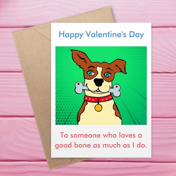 Valentine's Day - Good Bone Cards Tasteless Greetings