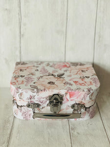 Small Floral Suitcase Gift