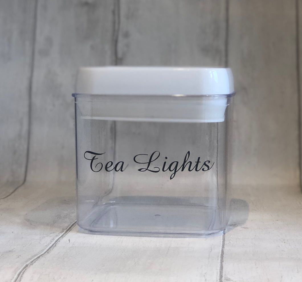 Tea Light Storage
