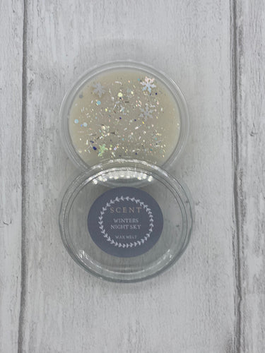 Winters Night Sky Wax Melt Pot was £2.50
