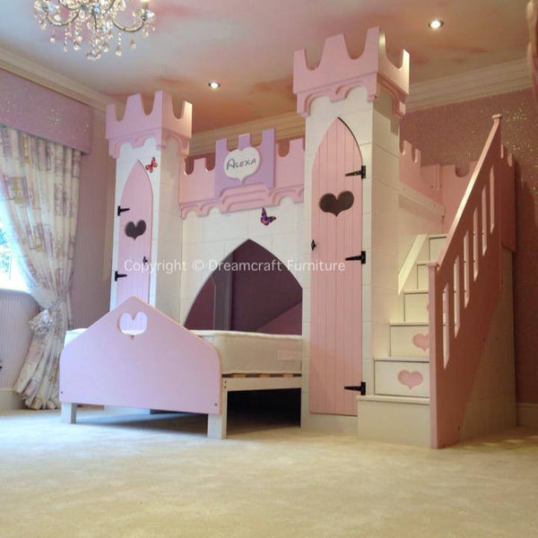 Alexa Princess Castle Bed Dreamcraft Furniture
