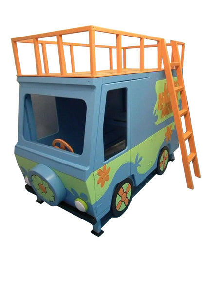 Scooby Doo Mystery Machine Bunk Bed Dreamcraft Furniture